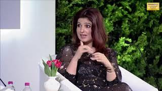 Watch: Twinkle Khanna bats for 'brave Tanushree Dutta' at HTLS 2018  from Hindustan Times
