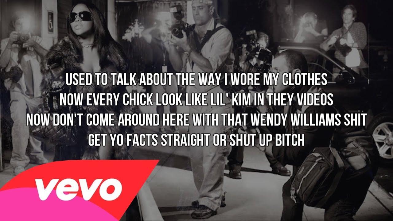 Slut shut up lyrics