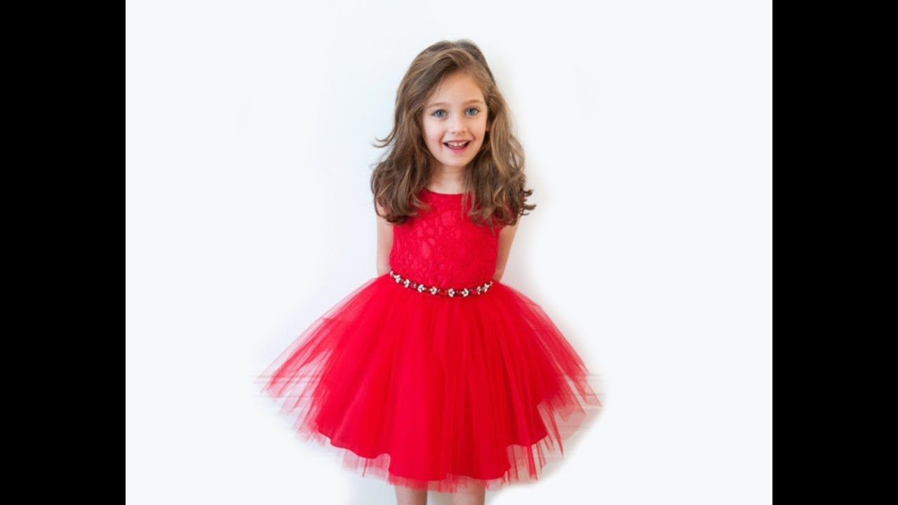 MARIAB Latest kids party wear dresses for Girls