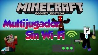 Como jugar en Multijugador sin Wi-Fi|Minecraft Pe 1.1.3