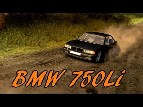 Spin Tires   BMW 750Li   Mod Review and Gameplay   Download Link In Description