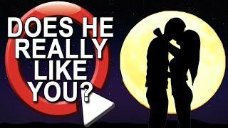 Does He Like Me? Take a Quiz