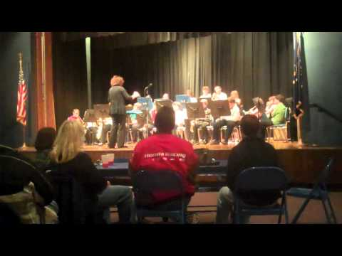 Delta Middle School Spring Jazz band Concert