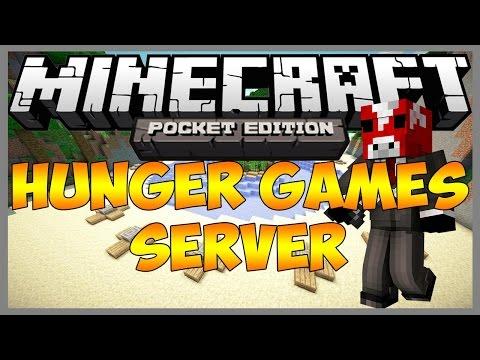 Minecraft PE v0.10.4 Alpha Hunger/Survival Games Server (Updated)
