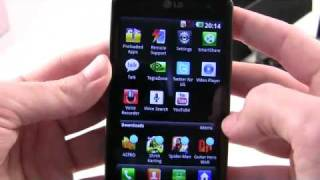 Unboxing of LG Optimus 2X  dual core