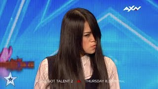 The Sacred Riana Judges' Audition Epi 3 Highlights | Asia's Got Talent 2017