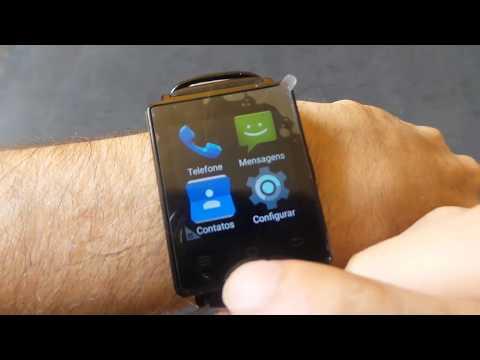NO.1 D6 3G - Smartwatch ou celular de pulso - Análise
