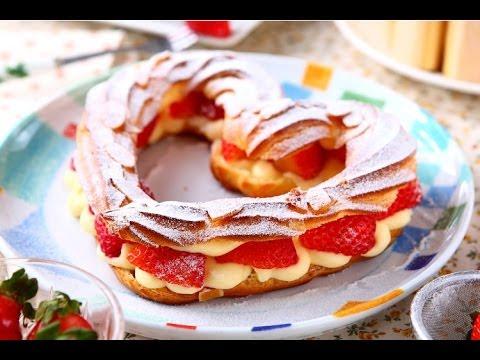 楊桃美食網-3分鐘學做菜】心型草莓閃電泡芙 HD