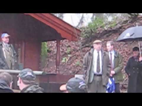 Salmon Fishing Scotland Tay Salmon Season Opening Ceremony Dunkeld...