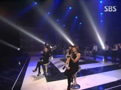 2ne1 - I Don't Care Unplugged Ver  Sbs Inkigayo 인기가요 090830 video