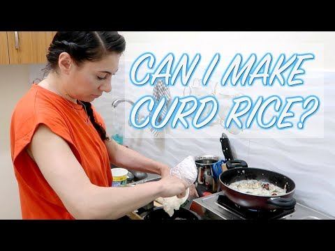 INDAN FOOD EP. 7: CAN I COOK CURD RICE?  | TRAVEL VLOG IV
