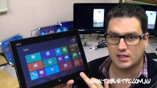 Fujitsu Q702 Windows 8 Tablet PC Review