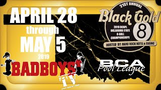 2019 BCAPL Black Gold 8-Ball Championships