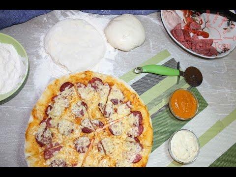 Итальянская пицца. Часть 1 : тесто. Как приготовить тесто для пиццы?