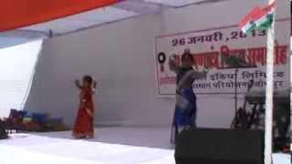 PAHI AND PRINCY performing poka dhanor maje maje