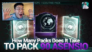 FIFA Mobile 18 S2 HOW MANY PACKS DOES IT TAKE TO PACK 90 ASENSIO SCOUTING??