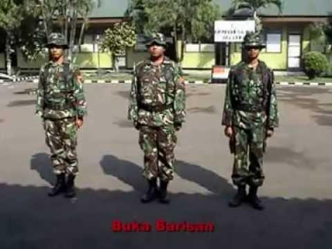 baris berbaris PBB TNI
