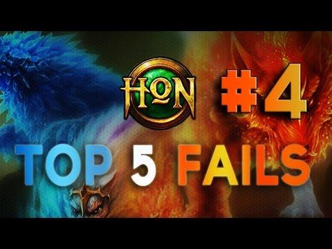 HoN Top 5 Fails - Ep. 4
