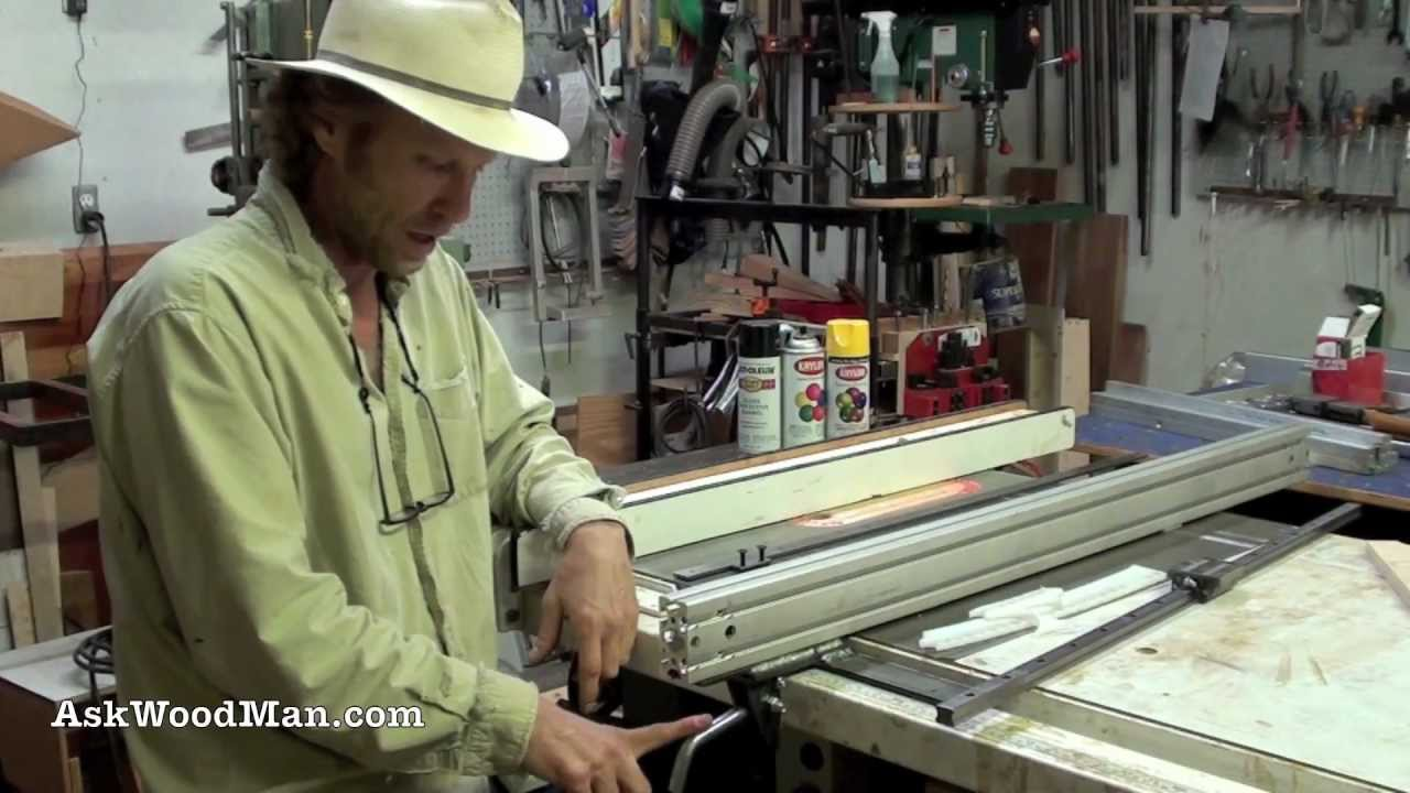 How To Build A T Square Table Saw Fence For Aluminum