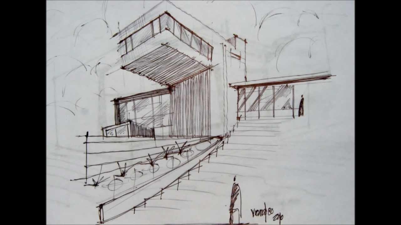 Representacion arquitectonica en taller youtube for Tecnicas de representacion arquitectonica pdf