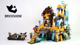 Lego Chima 70010 The Lion CHI Temple - Lego Speed Build