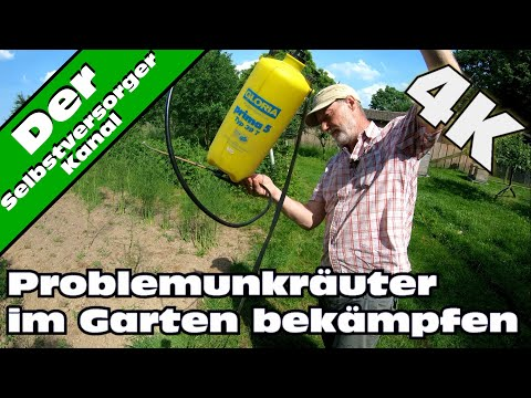Unkrautbekämpfung Im Garten. Problemunkräuter.