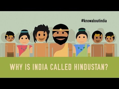 Why is India called Hindustan if it is secular? #knowaboutindia...
