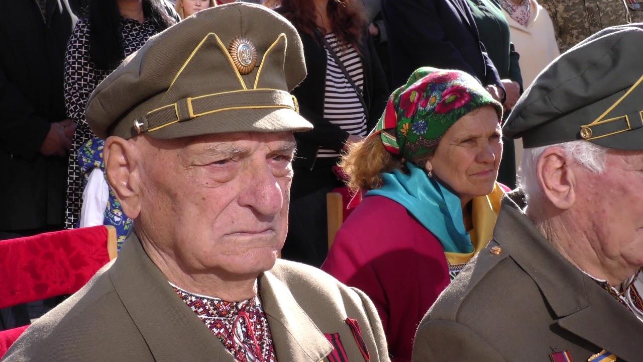 Миру і перемоги! У Калуші на Дні захисника Вітчизни зустрілися два покоління воїнів