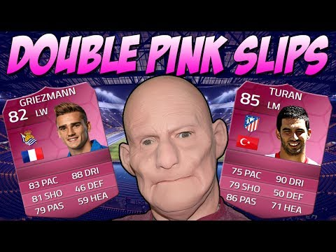 FIFA 14 RIDICULOUS PINK SLIPS IF TURAN & IF GRIEZMANN - YOU WONT BELIEVE MY LUCK