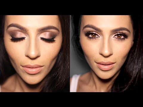 Neutral Smoky Eye Makeup Tutorial Youtube