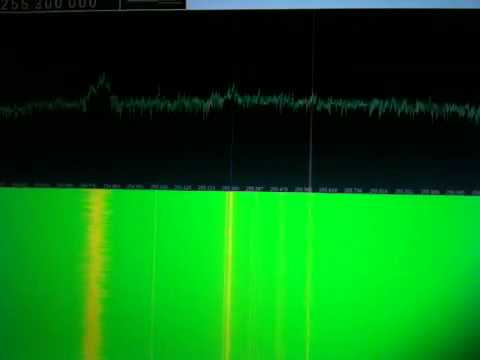 Brazil pirates on SATCOM 255 MHz