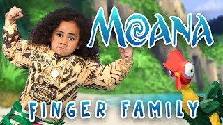 The Greatest Finger Family Song | Moana | Nursery Rhymes | WigglePop | Family Friendly | Kids Songs