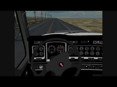18 wos american long haul kenworth t2000 v2