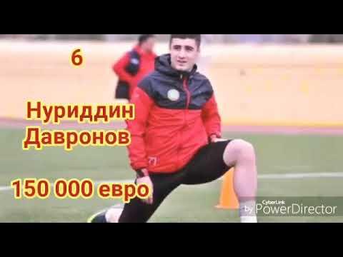 Топ 10 дорогих футболистов Таджикистана 🇹🇯