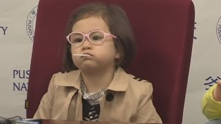 Watch Adorable 4-Year-Old Girl Steal The Spotlight Again After BBC Interview
