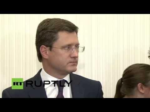 LIVE: Novak explains Russia's energy strategy until 2035 - English audio