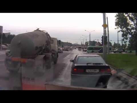 переход дороги в неположеном месте Минск м  Могилевская