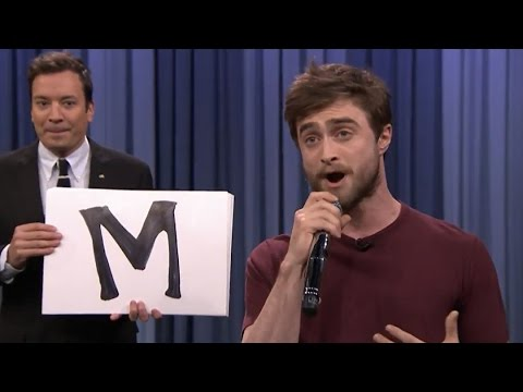 Daniel Radcliffe Raps Blackalicious Alphabet Aerobics on the...