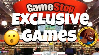 GameStop Exclusive Games!