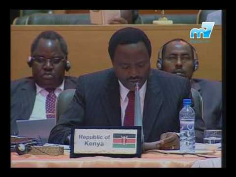 H.E. Kalonzo Musyoka at the G15 summit in Iran - Part 1