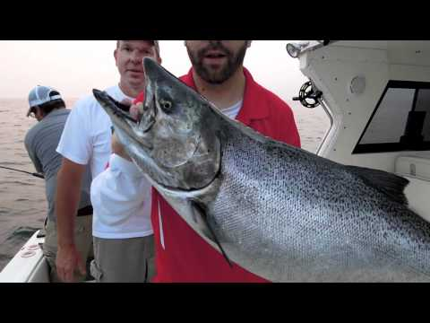 Lake Ontario Salmon Fishing (July 2011)