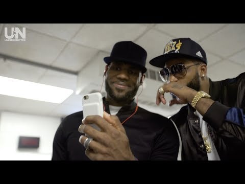 LeBron James Is Ready For The NBA Finals | TROPHIES
