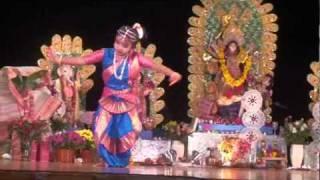 Meghai Mohisasur Modhini Dance - 2010, performed at Durga Puja