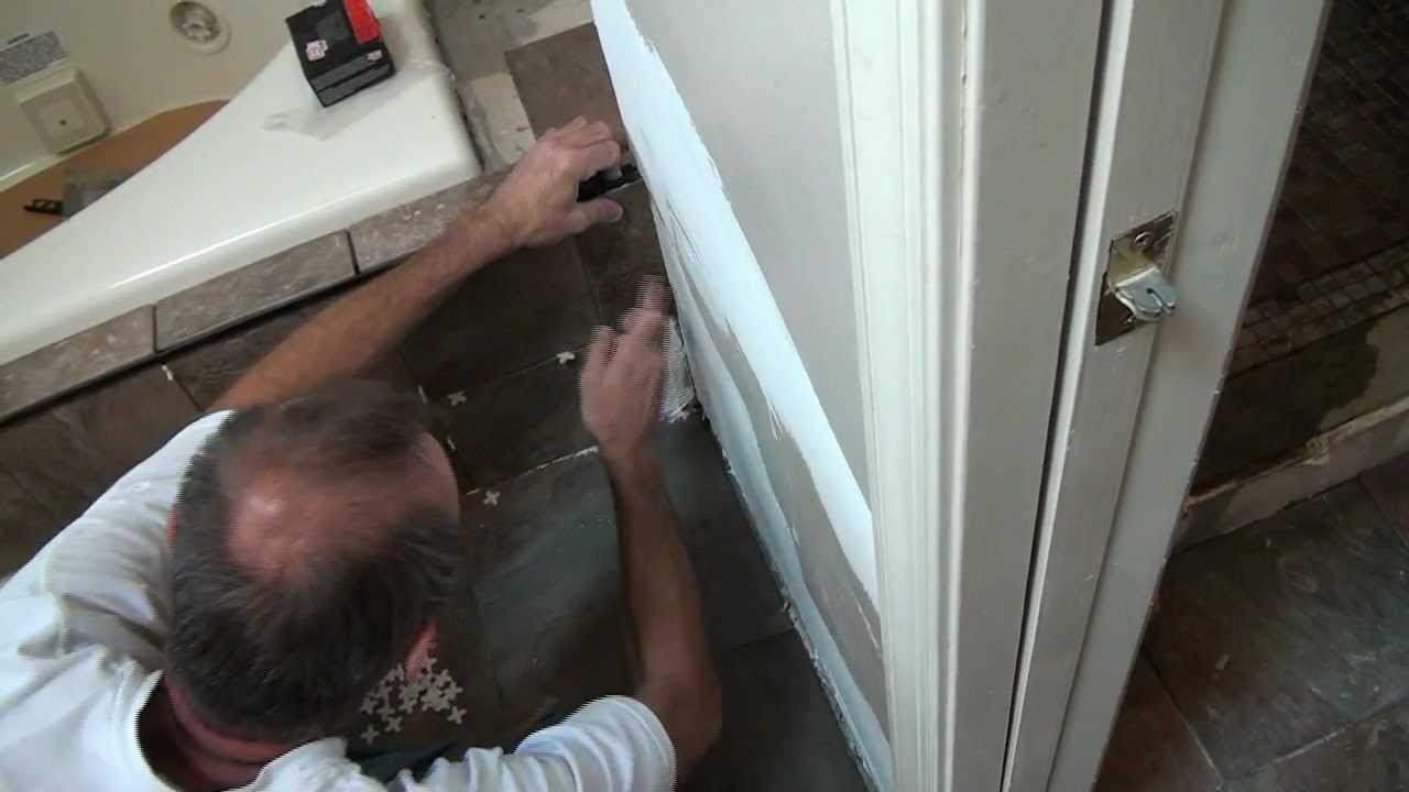 How to install tile around a jet tub bathroom tile projects youtube - Installing tile around bathtub ...