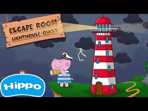 Гиппо 🌼 Квест комната 🌼 Дедушкин маяк 🌼 Мультик игра для детей (Hippo)