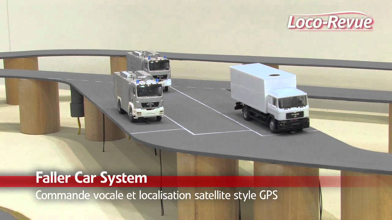Gps For Cars >> Nuremberg 2012: Démonstration Faller Car System Digital - YouTube