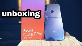 Redmi note 7 pro unboxing
