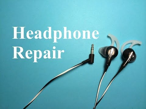 #1 How to Repair or Fix Headphones (Headphone Jack)