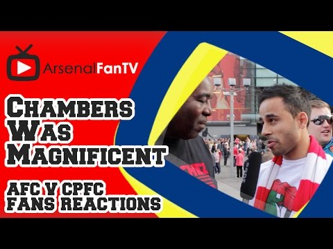 Calum Chambers Was Magnificent - Arsenal 2 Crystal Palace 1