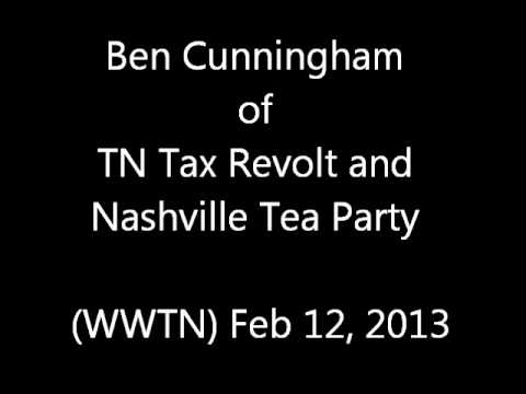 Sen Lamar Alexander Despised By TN Conservatives - 2/12/13 Radio Interview - Ben Cunningham